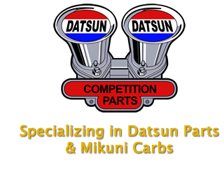 Datsun Competition Parts & Mikuni Carbs